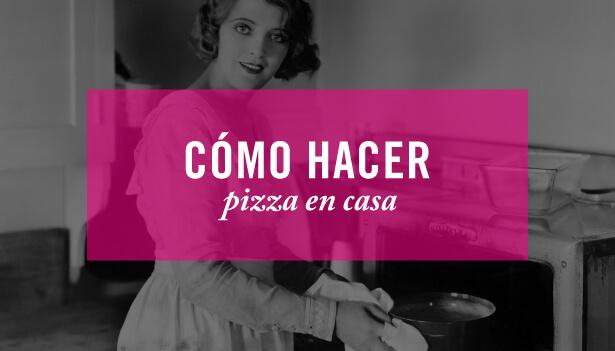 Malasmadres a los fogones: Pizza con masa casera