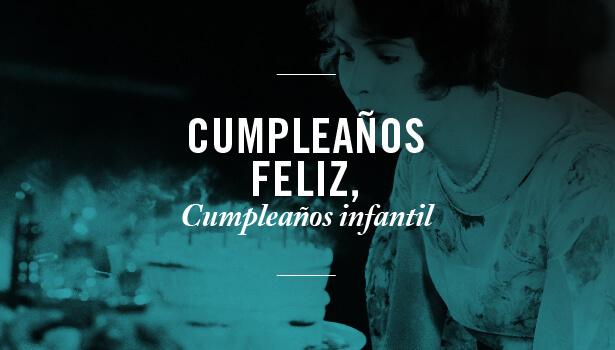 Cumpleaños feliz, cumpleaños infantil