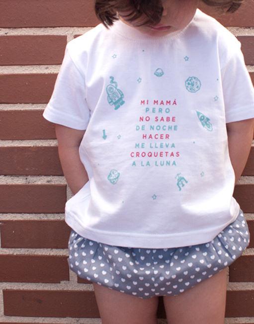 """Camiseta """"Mi Mamá no sabe hacer Croquetas"""""""