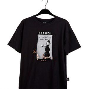 "Camiseta negra ""Yo Nunca"""