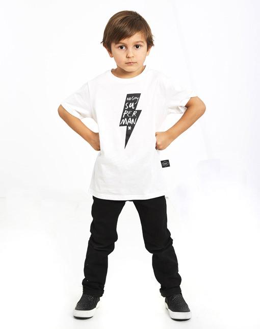"Camiseta Rayo ""No soy Superman"" Buenhijo"