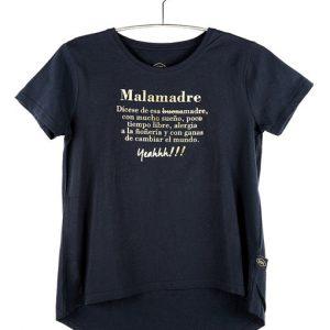 """Camiseta Golden """"Qué es una Malamadre"""" Letras"""