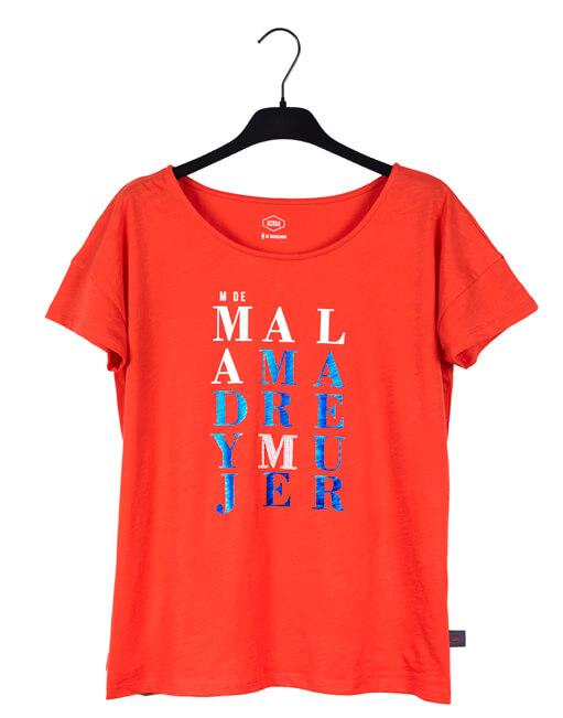 "Camiseta Coral ""M de Mujer"""