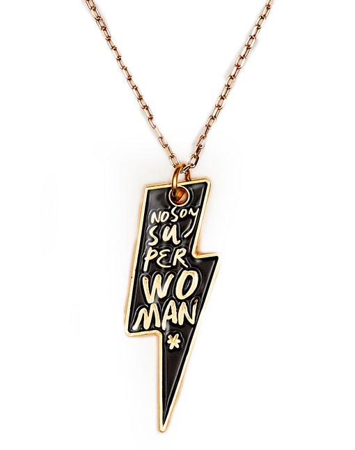 "Collar RAYO ""No soy superwoman"""