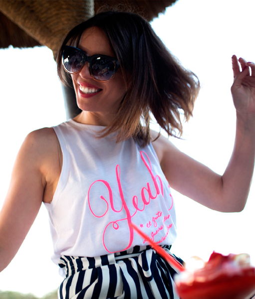 Colección Oh Yeah!! Summer Camiseta Blanca