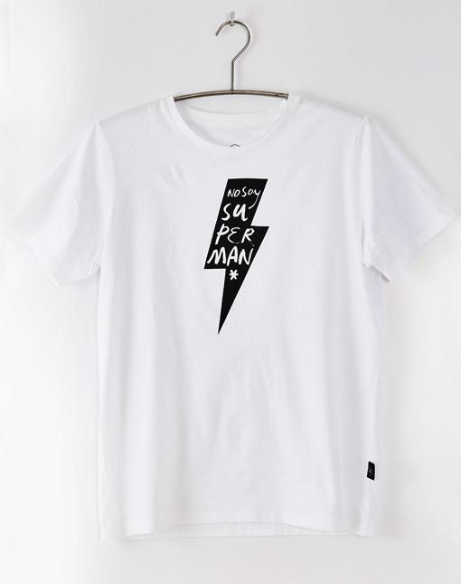 "Camiseta Rayo ""No soy Superman"""
