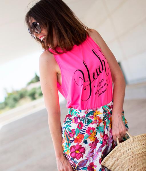 Colección Oh Yeah!! Summer Camiseta Flúor