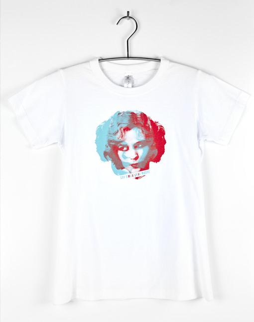 "Camiseta Vintage ""Soy Malamadre"" Blanca"