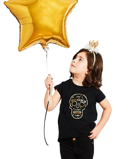 "Camiseta Golden ""Soy Buenahija"""