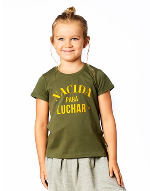 Camiseta buenahija 'Nacida para luchar'