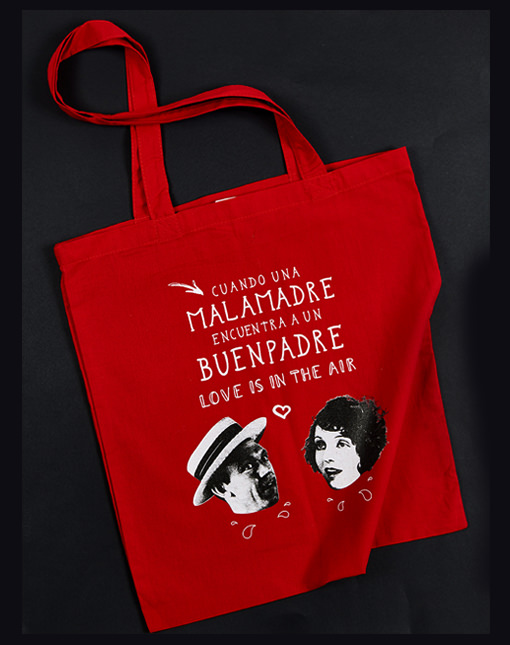 "Bolsa tote ""Love is in the Air"""