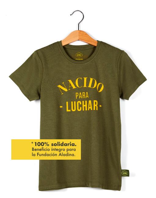 Camiseta buenhijo 'Nacido para luchar'