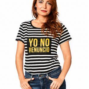 Camiseta Rayas Malamadre Yo no renuncio