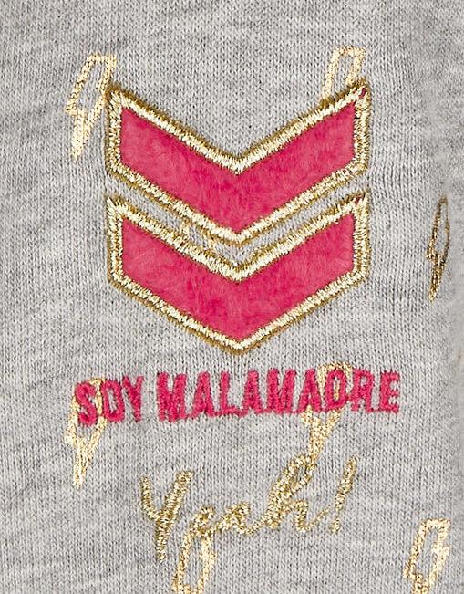 "Sudadera RAYO ""No soy superwoman"" Malamadre"