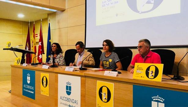 """Presentación de la I carrera """"Yo no renuncio"""" en el Ayto de Alcobendas"""