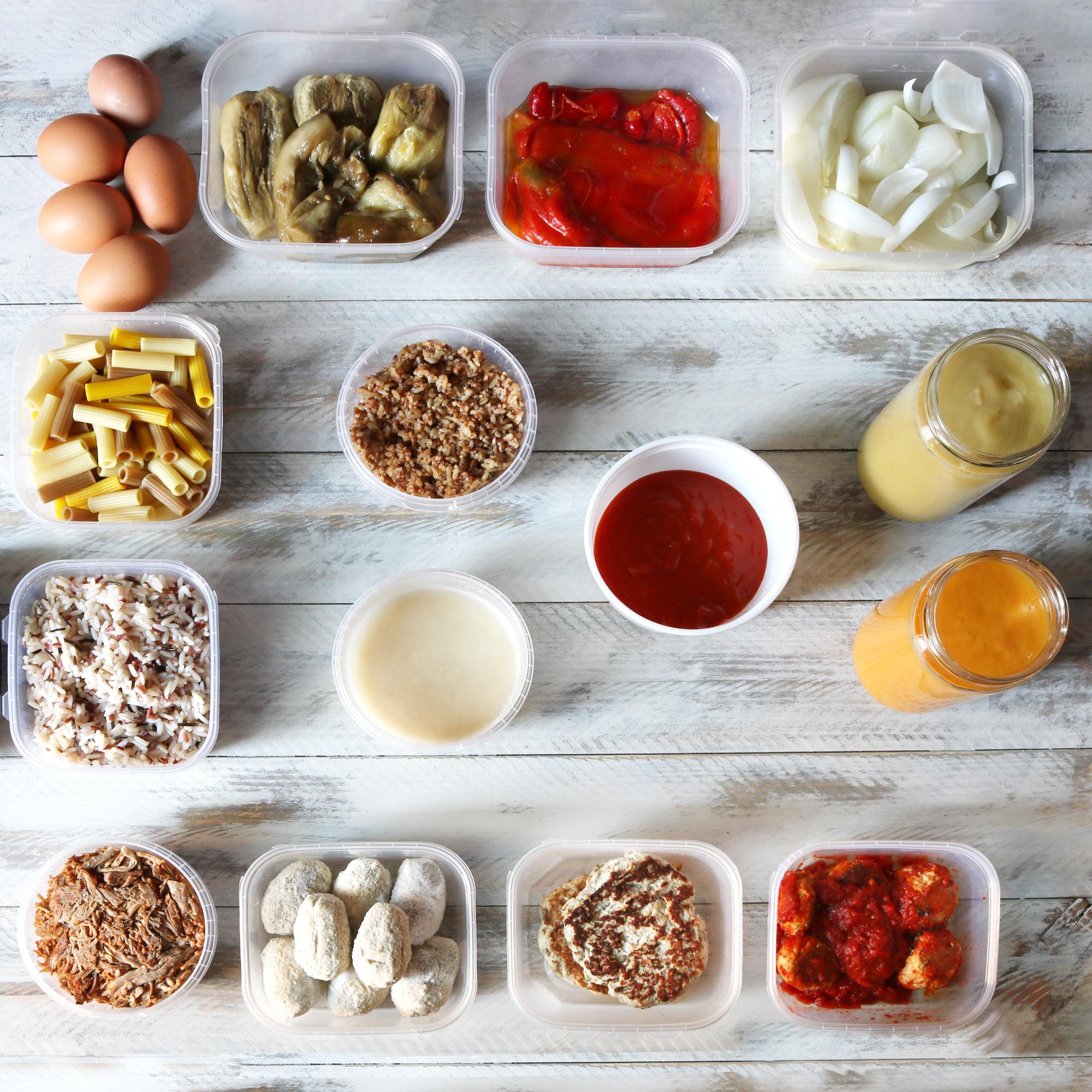 El batch cooking o cómo planificar el menú de la semana en tuppers