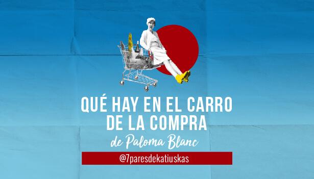 'Hacer la compra con Paloma de 7 pares de katiuskas'