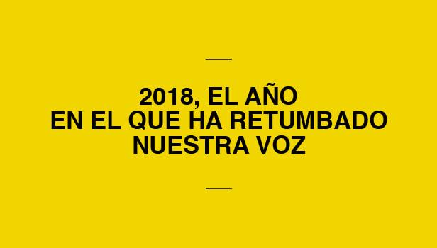 Hitos de la conciliación #YONORENUNCIO 2018