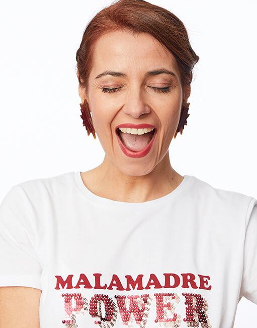 Pendientes 'Malamadre Power' by Papiroga