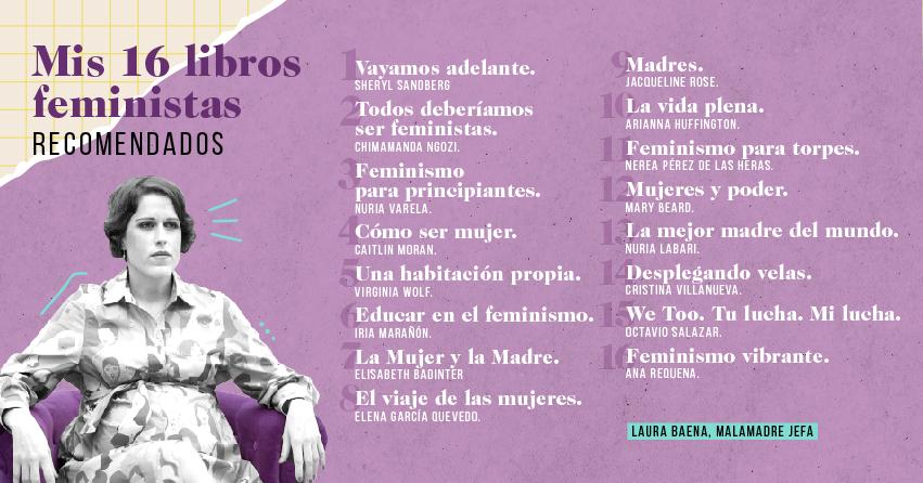 Mis libros feministas