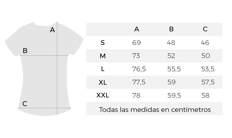medidas-camiseta-topos-coleccion-feminista