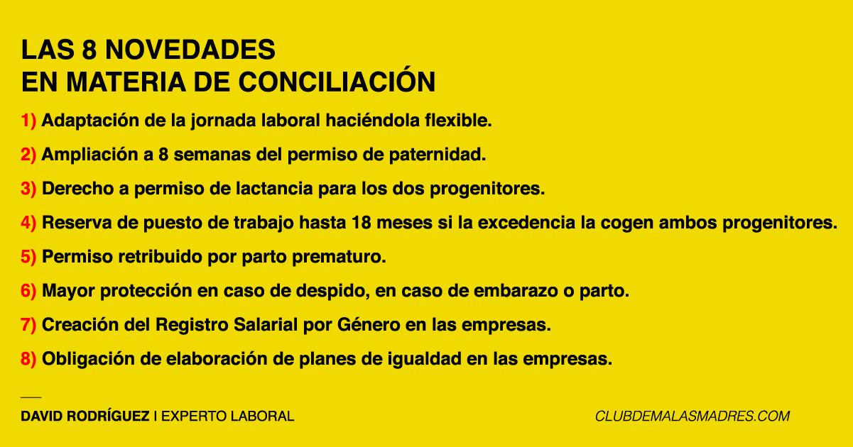 Las 8 Novedades De Las Medidas De Conciliación Aprobadas