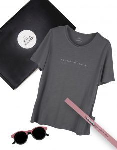 KIT NO SOMOS INVISIBLES CAMISETA GRIS
