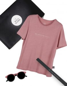 KIT NO SOMOS INVISIBLES CAMISETA ROSA