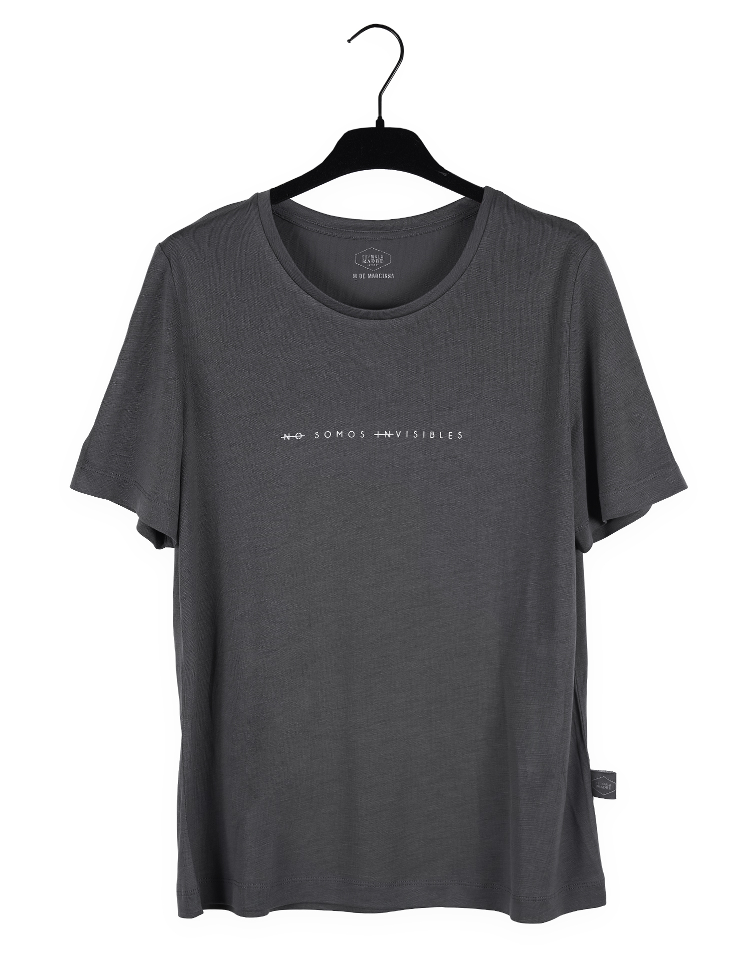 "Camiseta Gris ""No somos invisibles"""