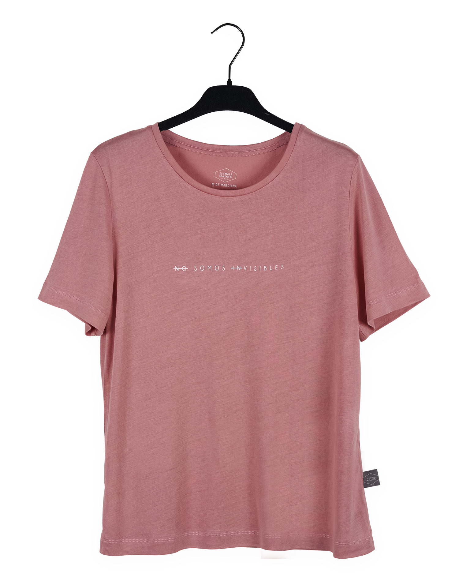 "Camiseta Rosa ""No somos invisibles"""