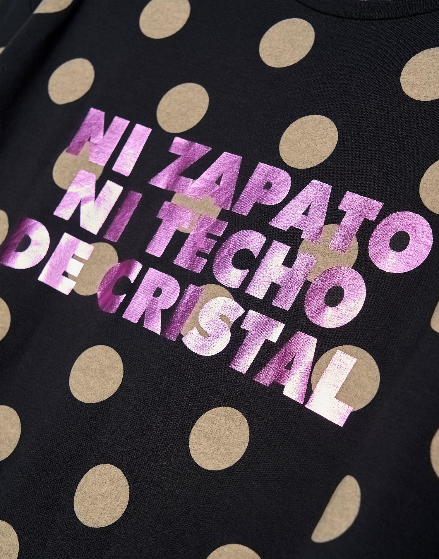 "Camiseta Topos ""ni zapato ni techo de cristal"""
