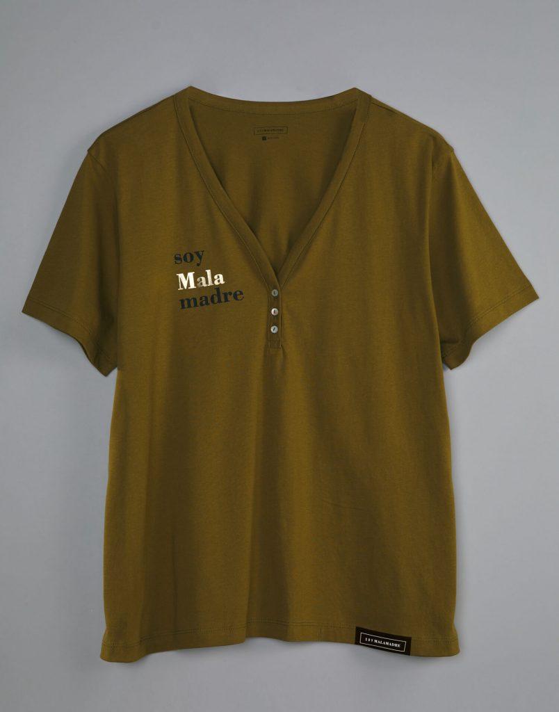 camiseta panadera malasmadres detalle