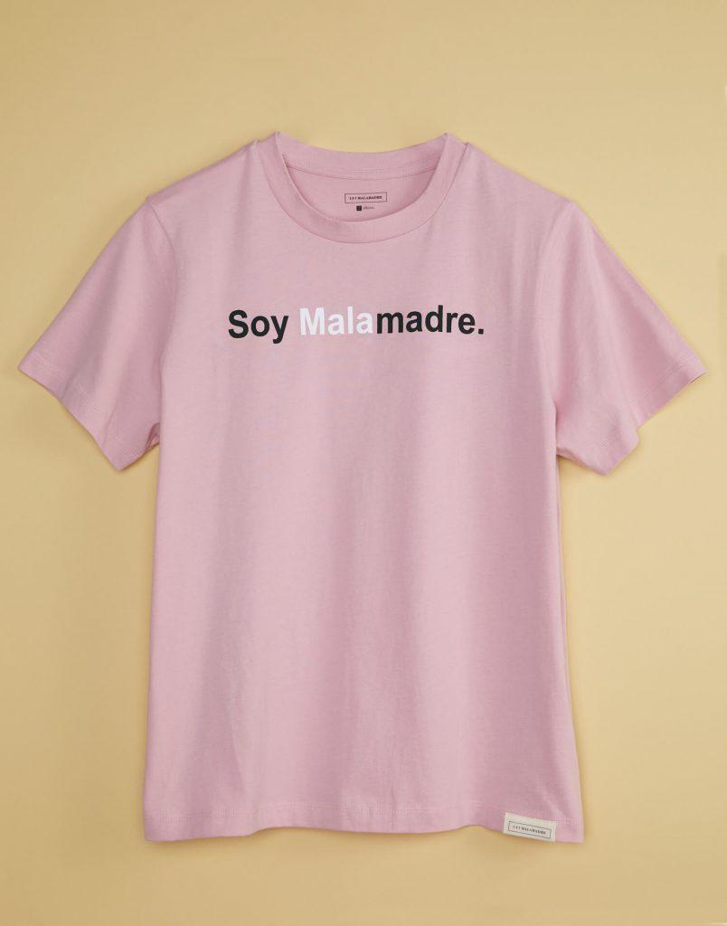 camiseta soymalamadre nude