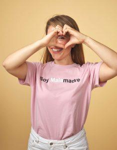 Camiseta nude 'Soy Malamadre'