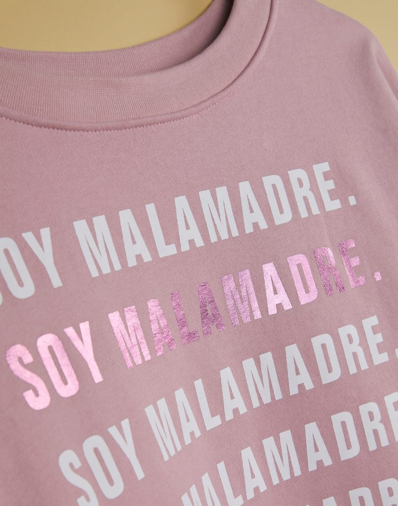 Sudadera nude 'Soy Malamadre'