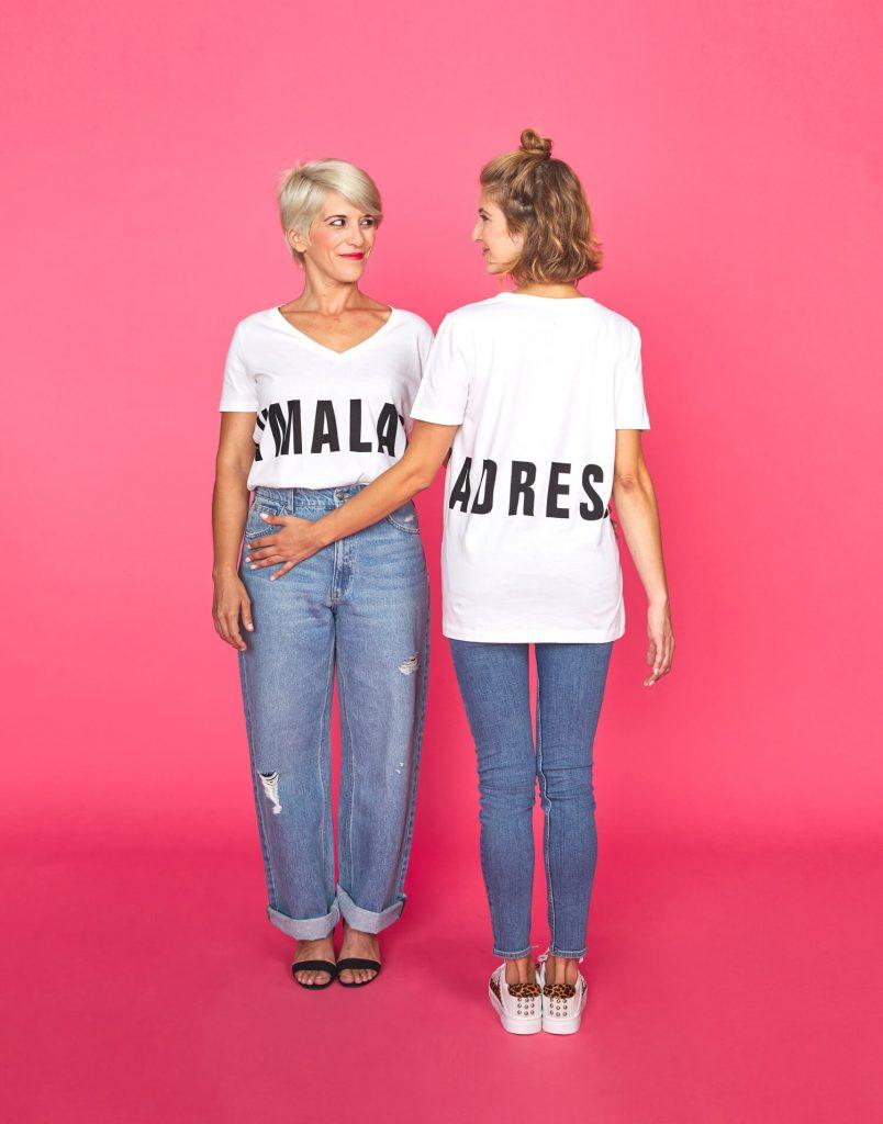 Camiseta blanca 'Soy Malamadre'