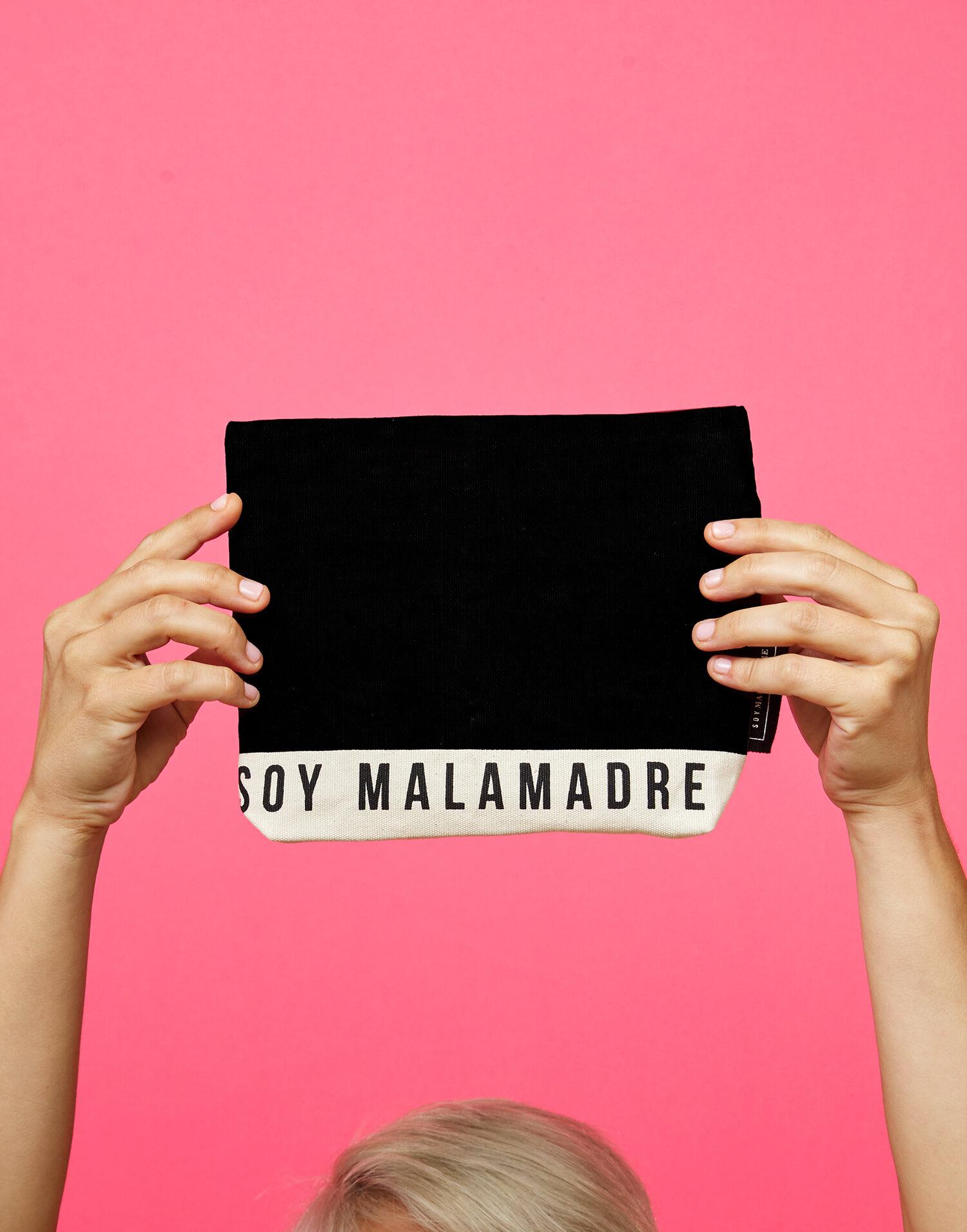 Bolso de mano pequeño 'Soy Malamadre'