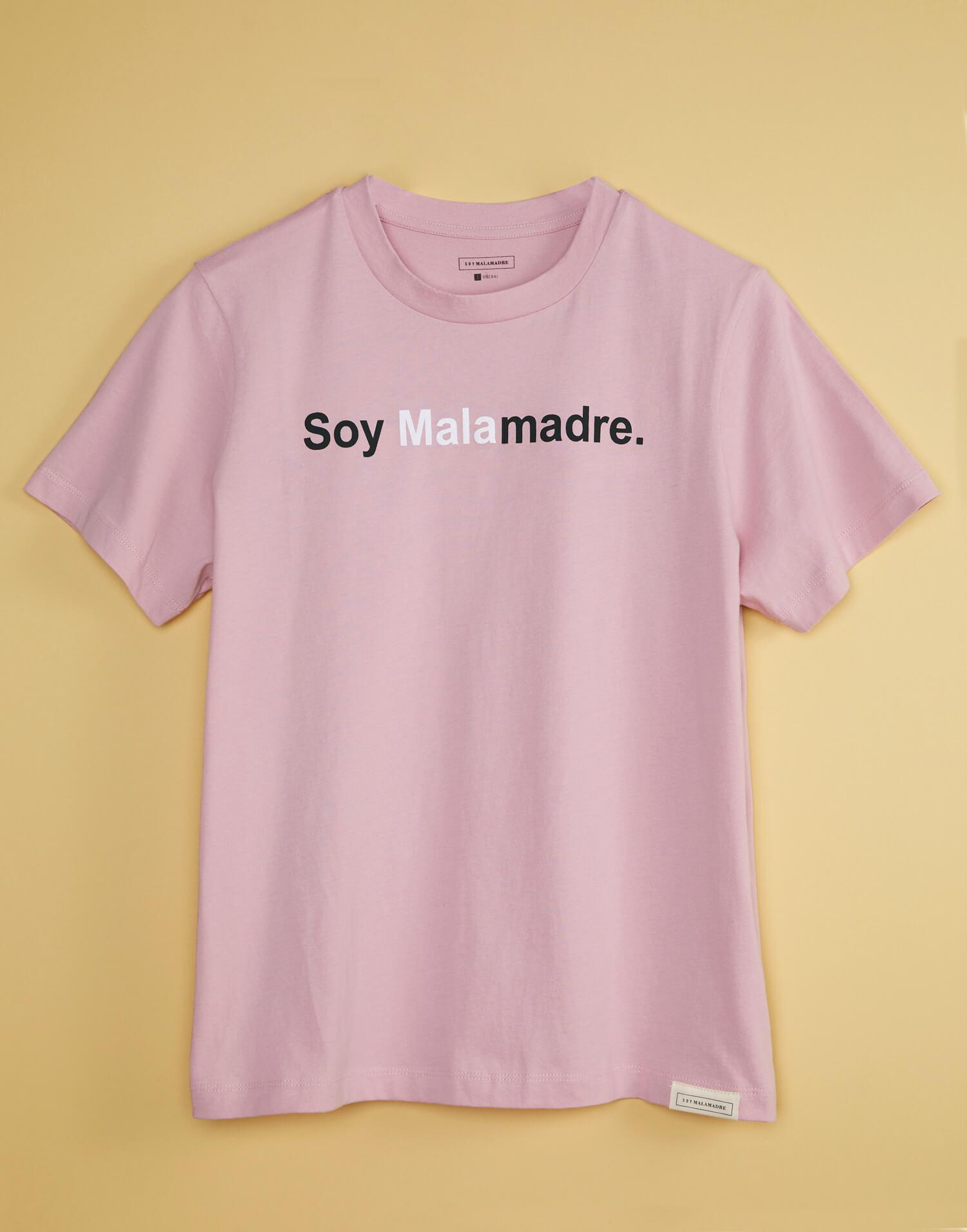 camiseta rosa malasmadres soy malamadre