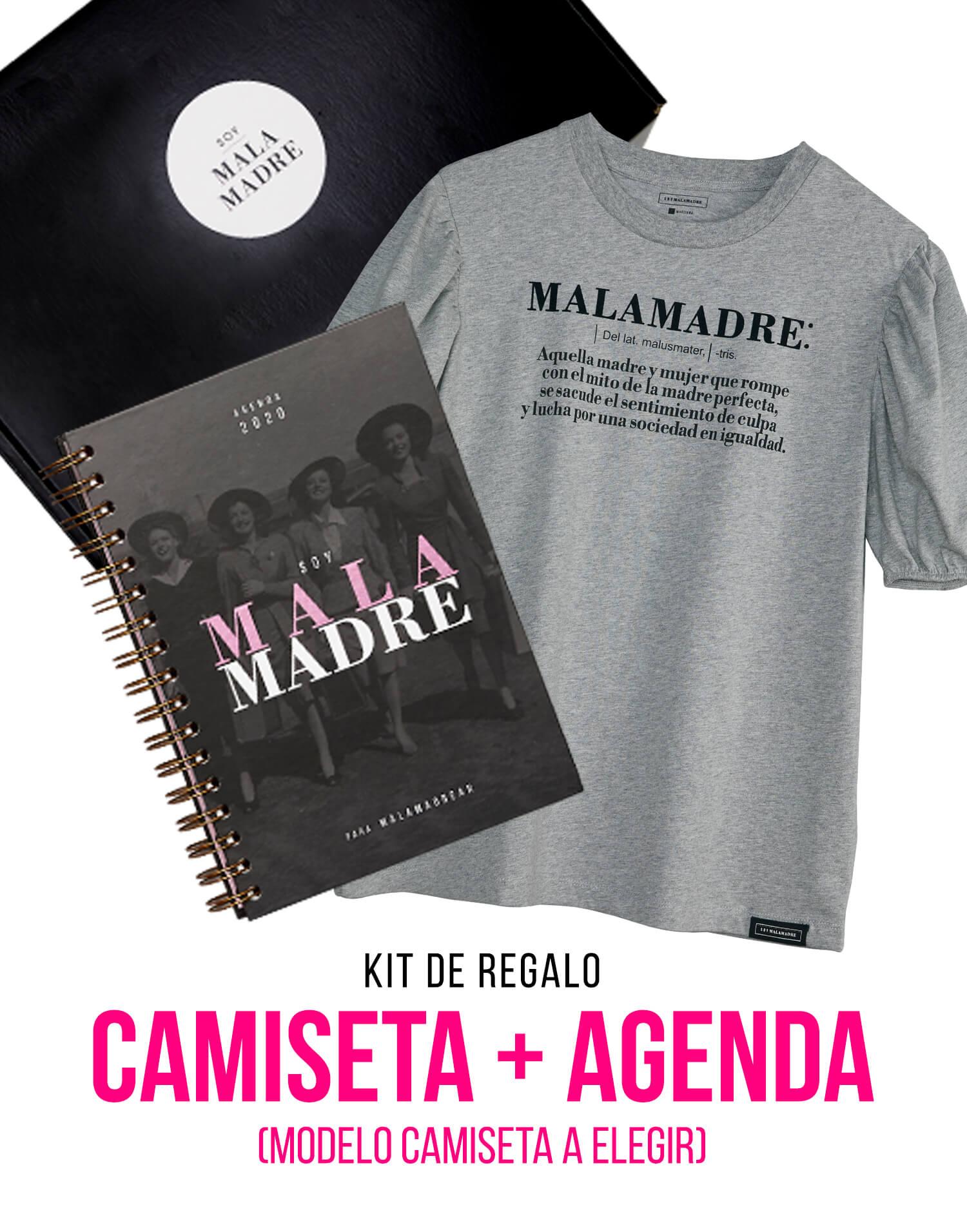 Kit Agenda 2020 con camiseta