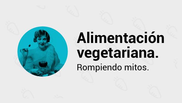 La alimentación vegetariana
