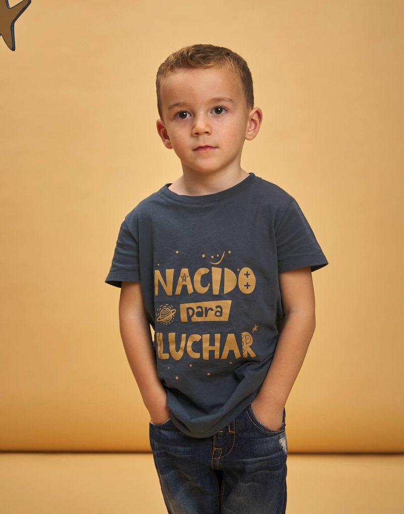 camiseta buenhijo nacido para luchar