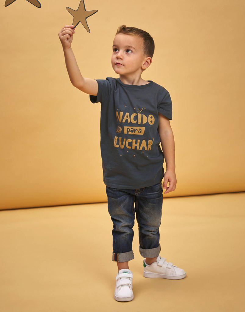 camiseta nacido para luchar buenhijo