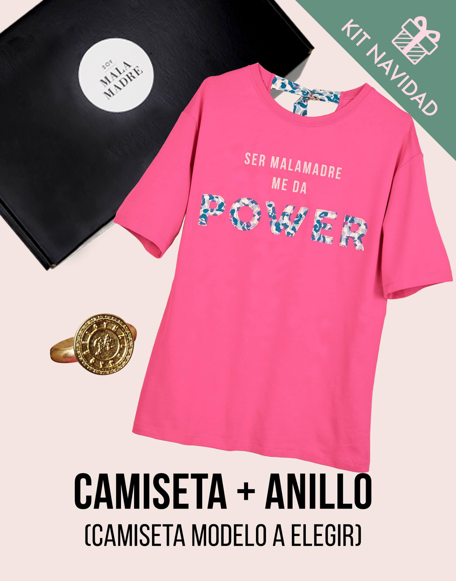 Kit camiseta con anillo 'Soy Malamadre'