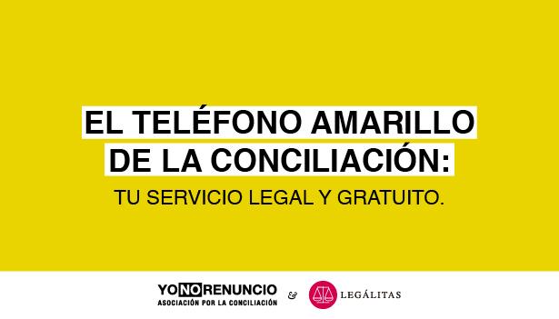 El teléfono amarillo estrena año reforzando su servicio junto con Legálitas