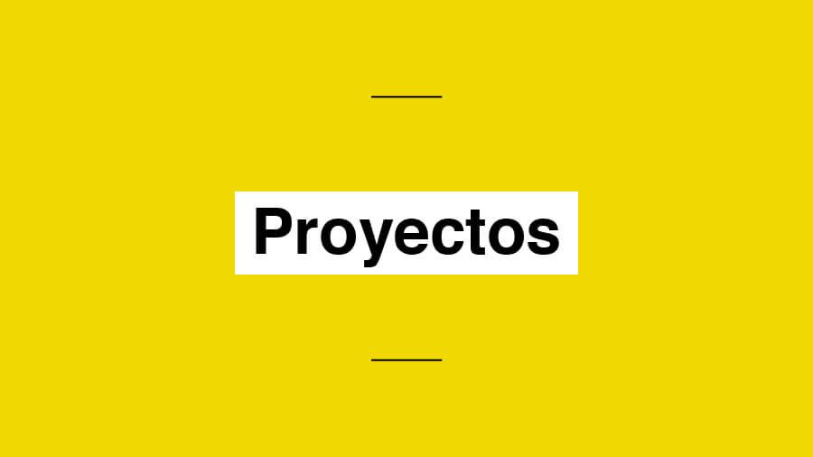 Asociación yo no renuncio proyectos