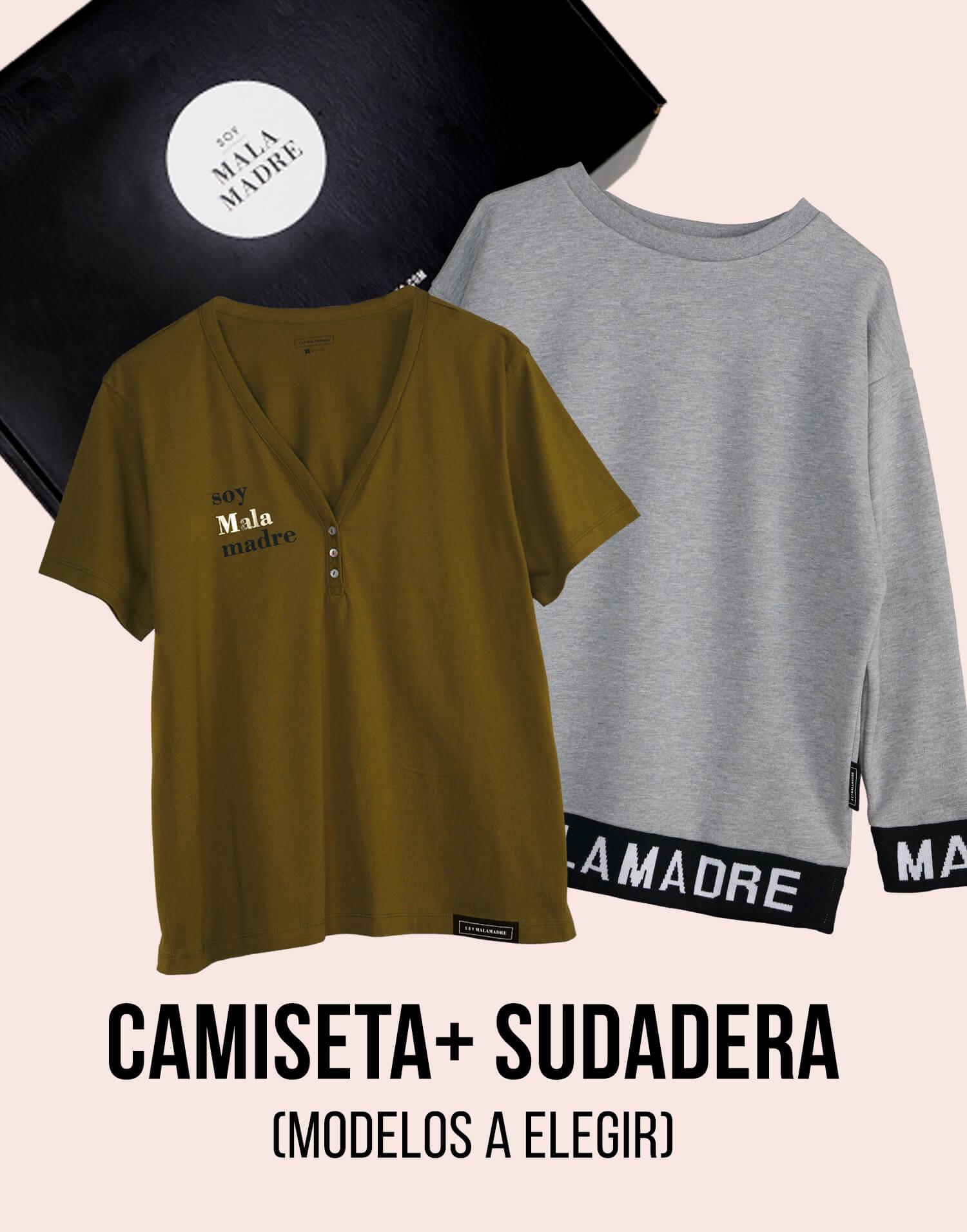 Kit camiseta Malamadre con sudadera