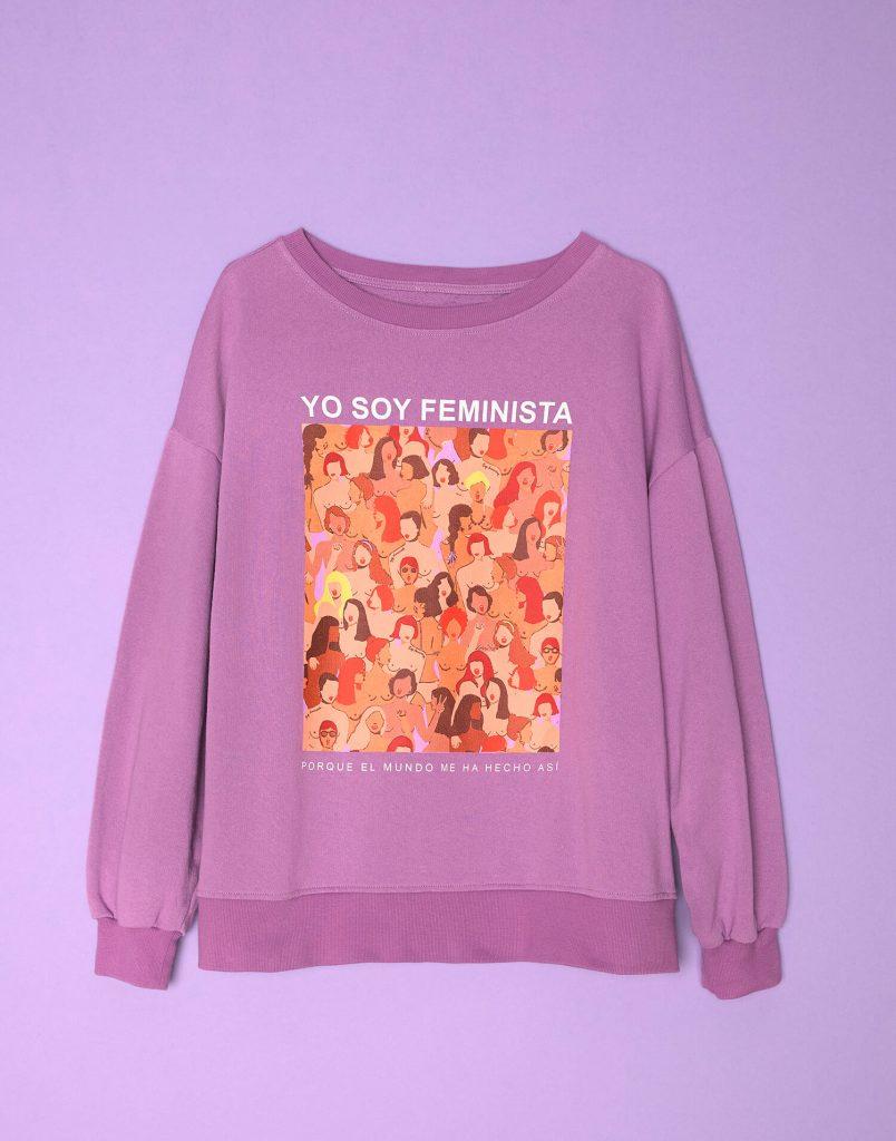 sudadera 'Soy Feminista