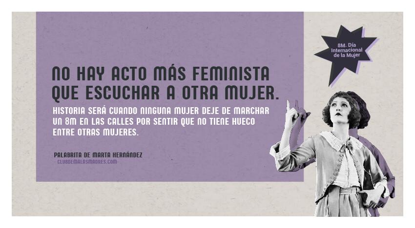 No me representa tu feminismo
