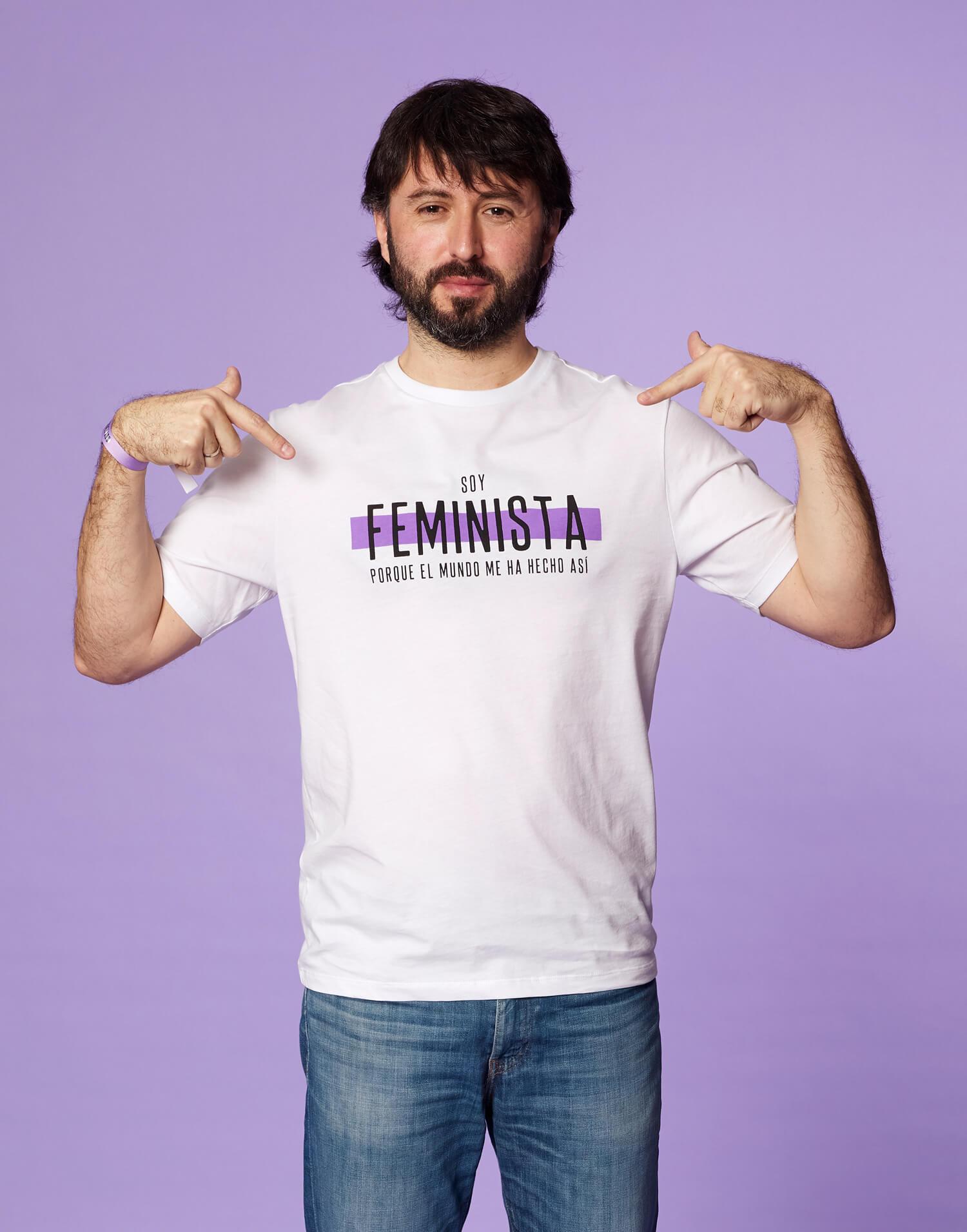 Camiseta chico 'Soy Feminista' 2020