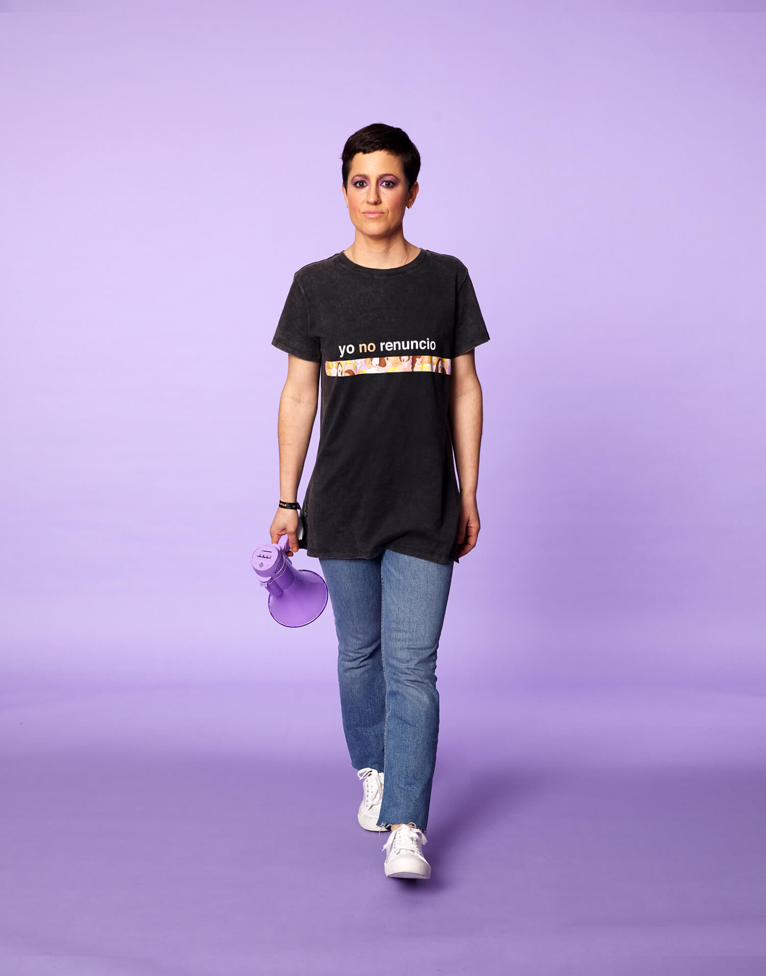 Camiseta Negra 'Yo no renuncio'